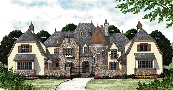Code Promo Home Maison Plan 96914 - European House Plan With 5 Bed, 9 Bath