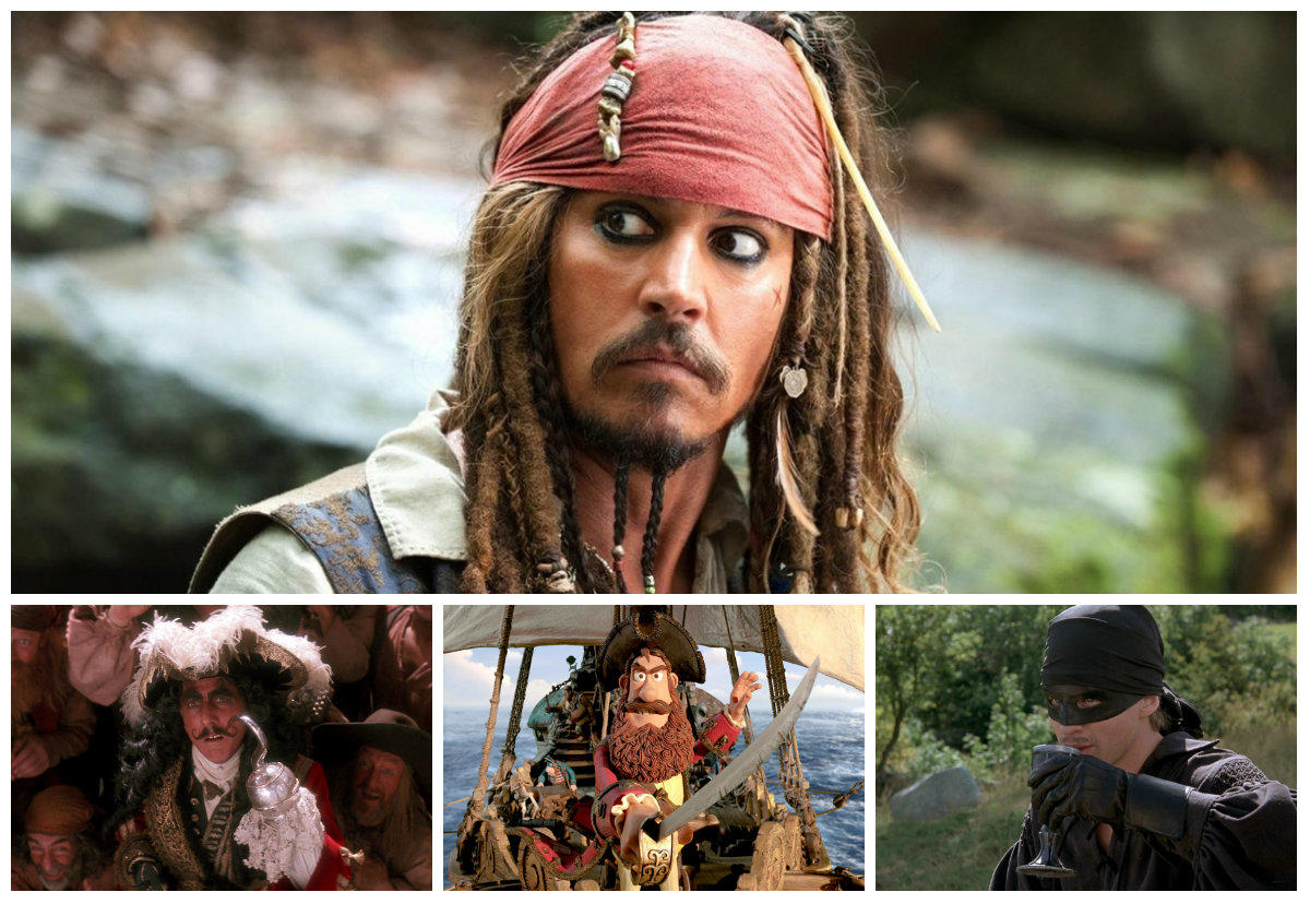The Pirate Filme Arrrr Mateys The Top 10 Best Fictional Pirates On Film