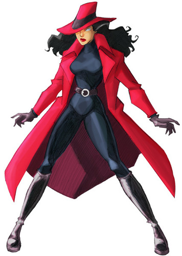 Modern Girl Wallpaper Free Download Carmen Sandiego Images Carmen Sandiego Wallpaper And