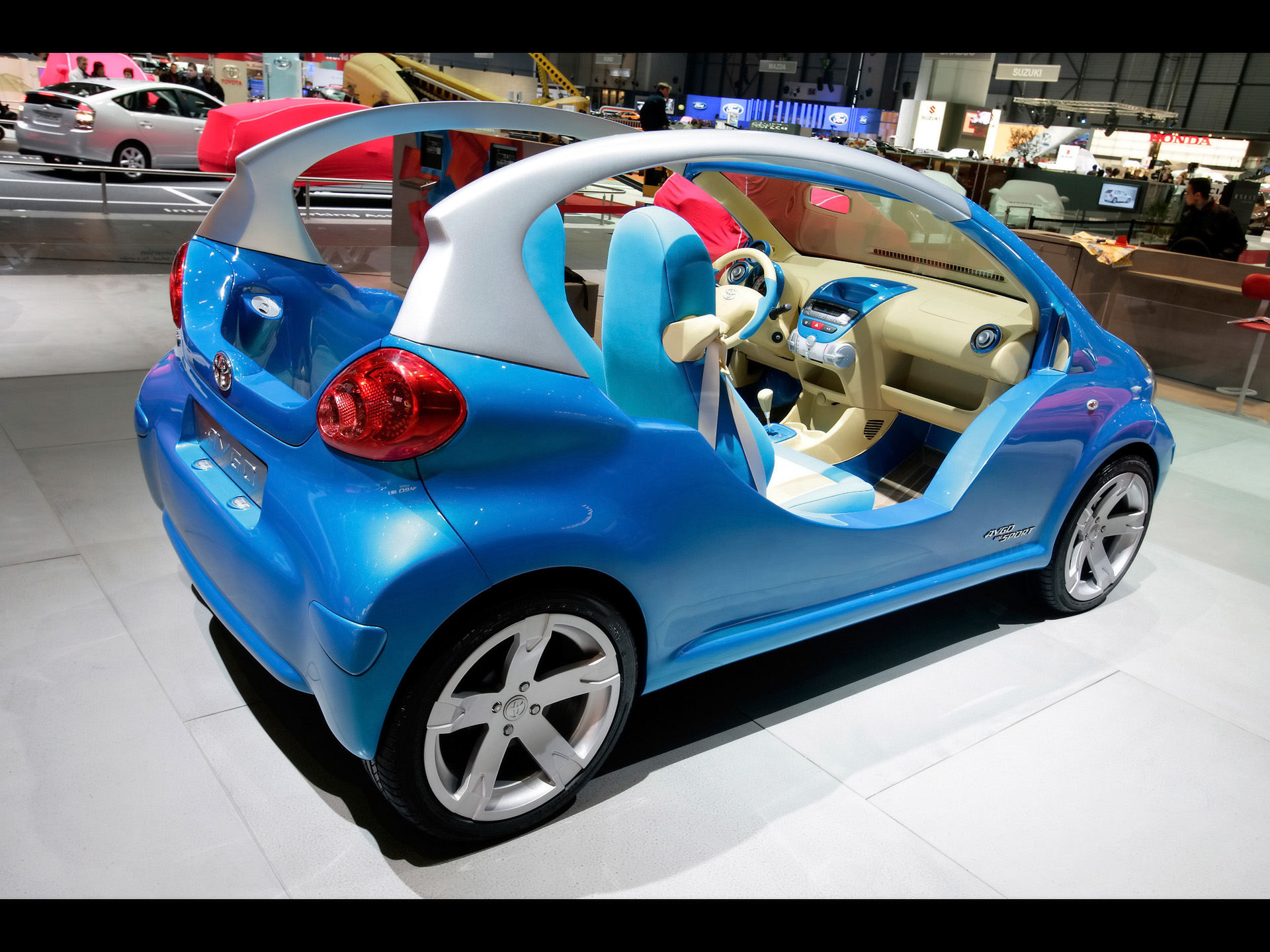Hd Hybrid Car Wallpaper Toyota Images Toyota Aygo Sport Hd Wallpaper And