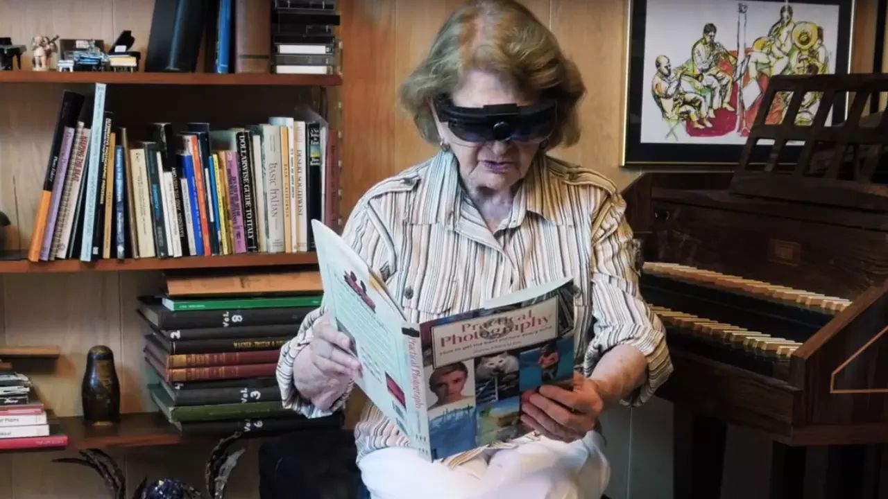 help for visually impaired
