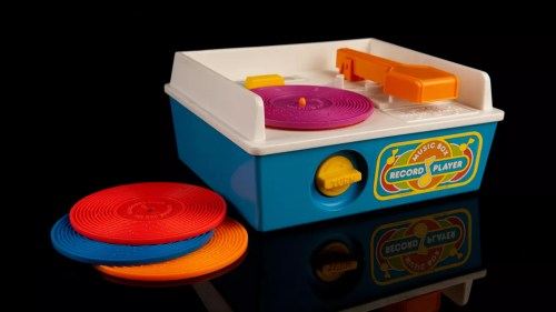 Medium Of Fisher Price Record Player