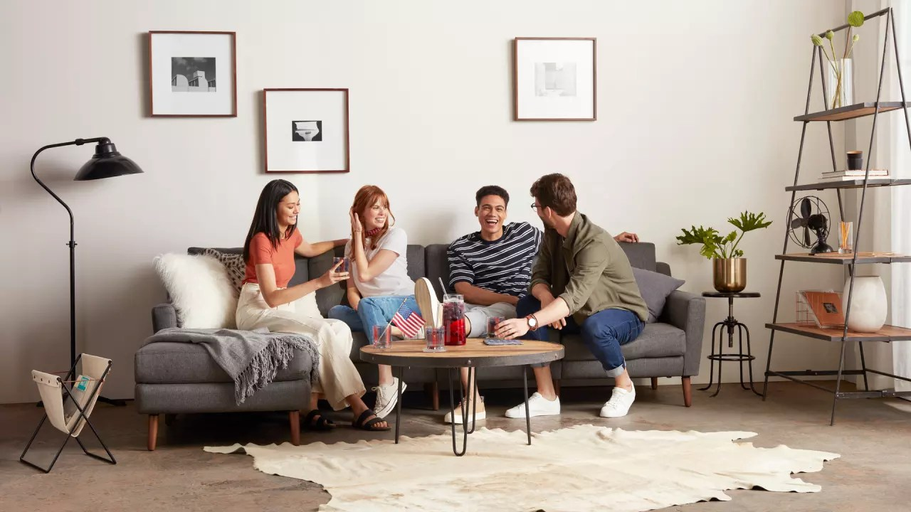 Sofa In A Box Companies Sofa Startup Burrow Opens Its First Physical Store As Online Sales Fue