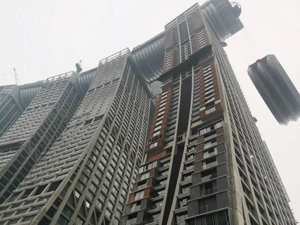 Raffles City Chongqing is a $48 billion horizontal skyscraper