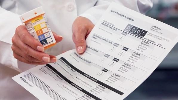 CVS Taps A Design Legend To Reinvent The Prescription Label Next Stop
