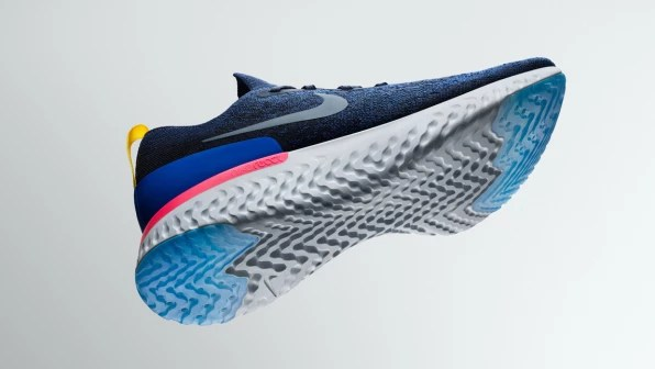 Nike\u0027s New React Running Shoe Is Flubber For Your Feet