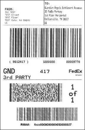Fedex Label Template 16 fedex ship manager server label and form - packing label template