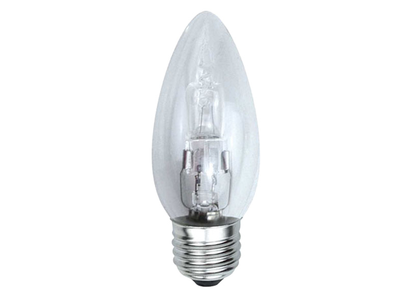 Halogen E27 Eveready Eves4874 40w Halogen Candle Lamps Energy Saving E27 Edison Screw