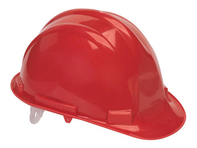 Sealey Ssp17 Safety Helmet Red Bs En 397