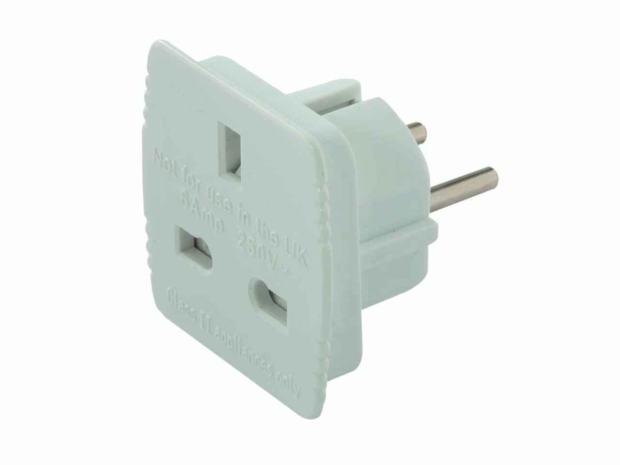 Travel Adapter Eu To Uk Power Master 171631 Uk To Eu Travel Adaptor 220 240v