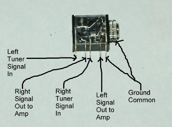 Wiring Diagram 1 4 Stereo Jack Wiring Diagram