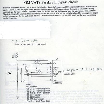 vats wiring diagram 1994 vr bypassing bcm memcal no vats just