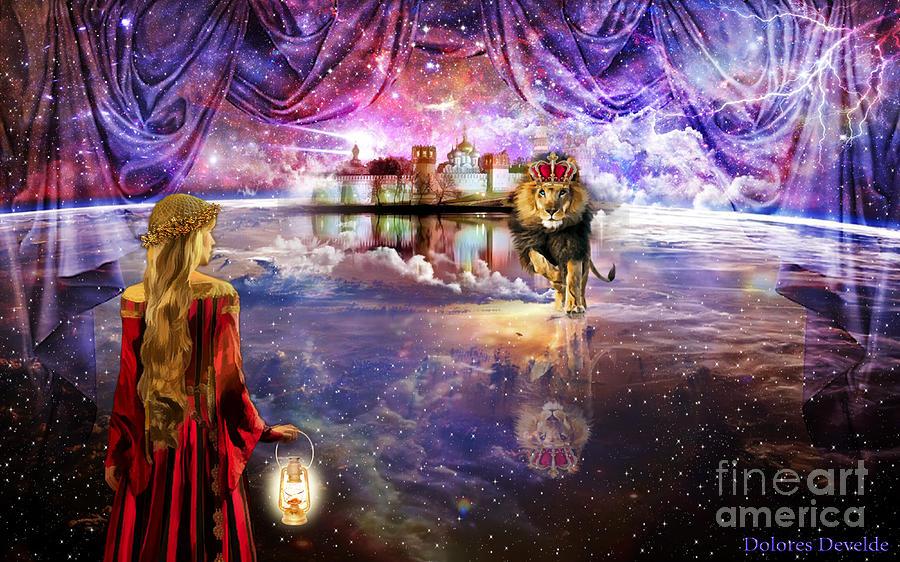 New Jerusalem Digital Art By Dolores Develde