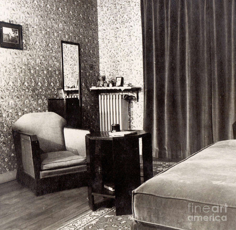 Arts Deco Paris Boudoir In Art Deco Apartment Paris 1937 By Anka Anka