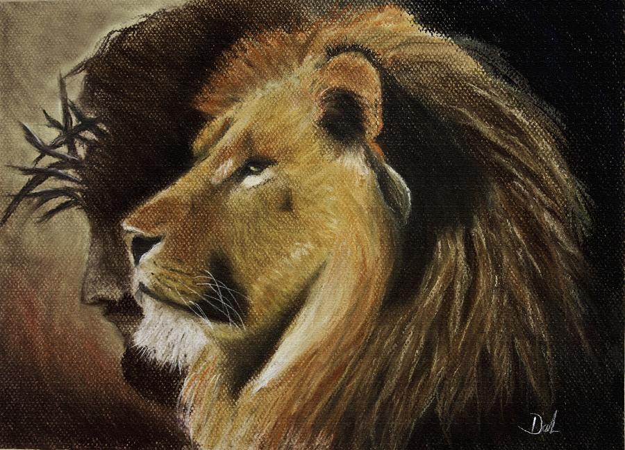 Fire Lion Hd Wallpaper Lion Of Judah Pastel By Dale Bradley