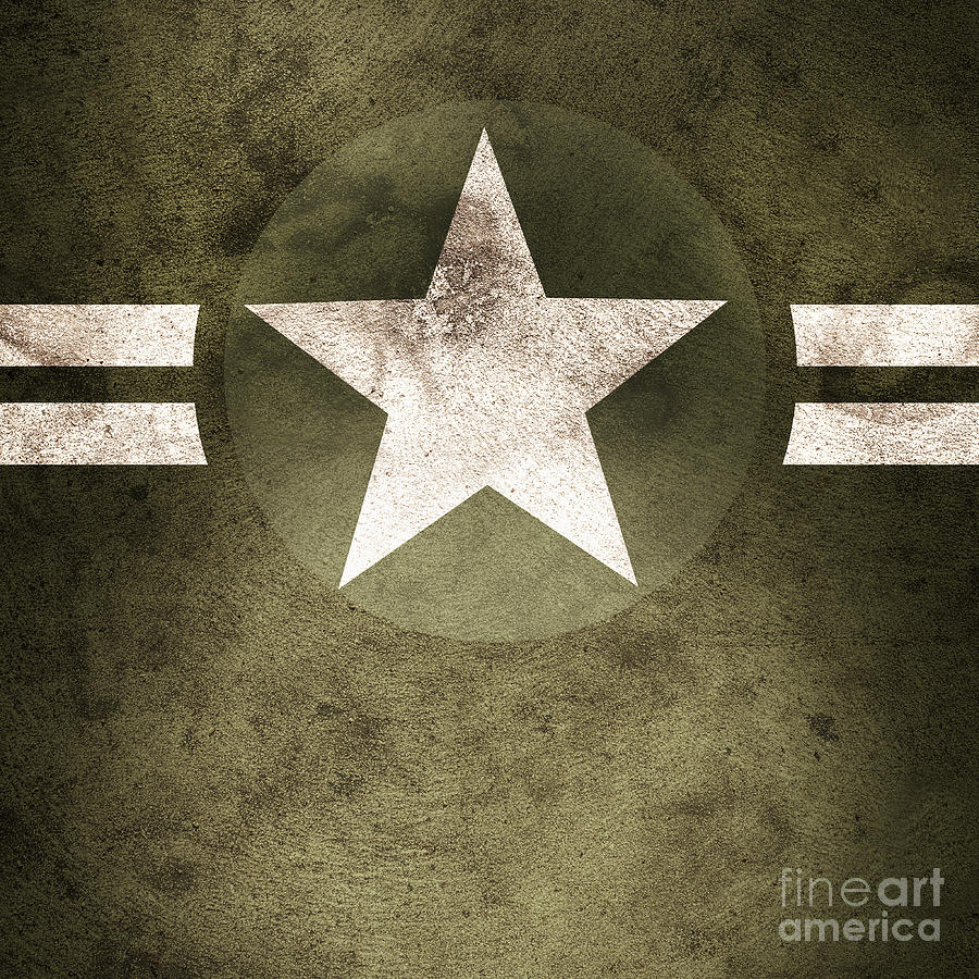 Green Wallpaper Iphone 5 Military Army Star Background Photograph By Jorgo