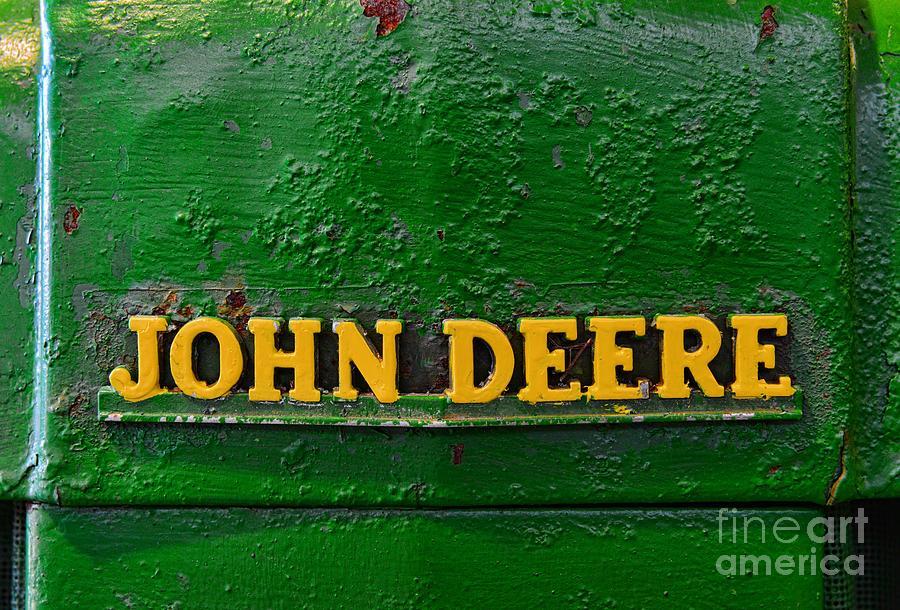Vintage John Deere Tractor Photograph By Paul Ward