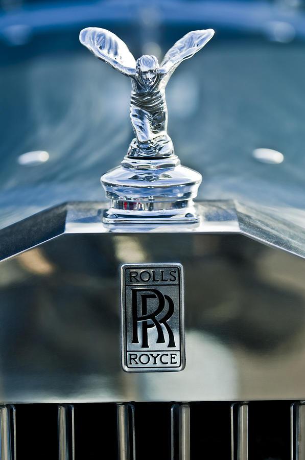 Royal Rise Car Wallpapers 1952 Rolls Royce Hood Ornament Photograph By Jill Reger
