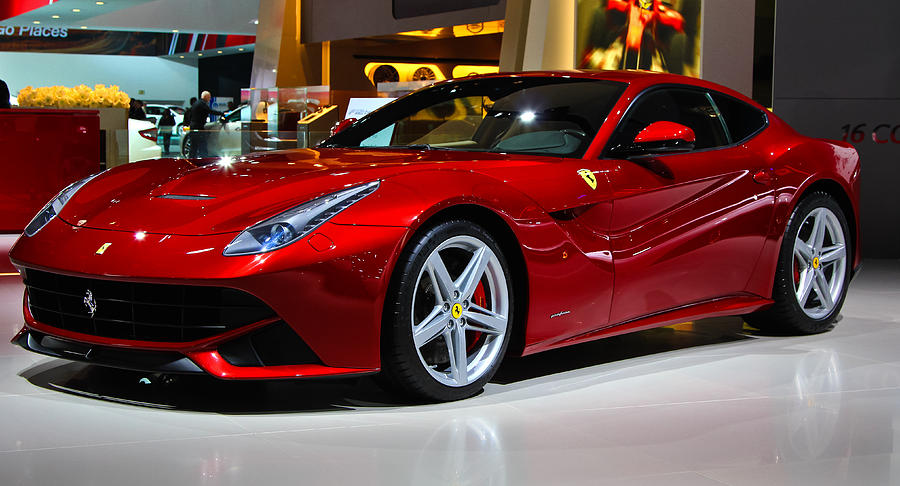 Fastest Car In The World Wallpaper 2013 Red Ferrari Photograph By Rachel Cohen