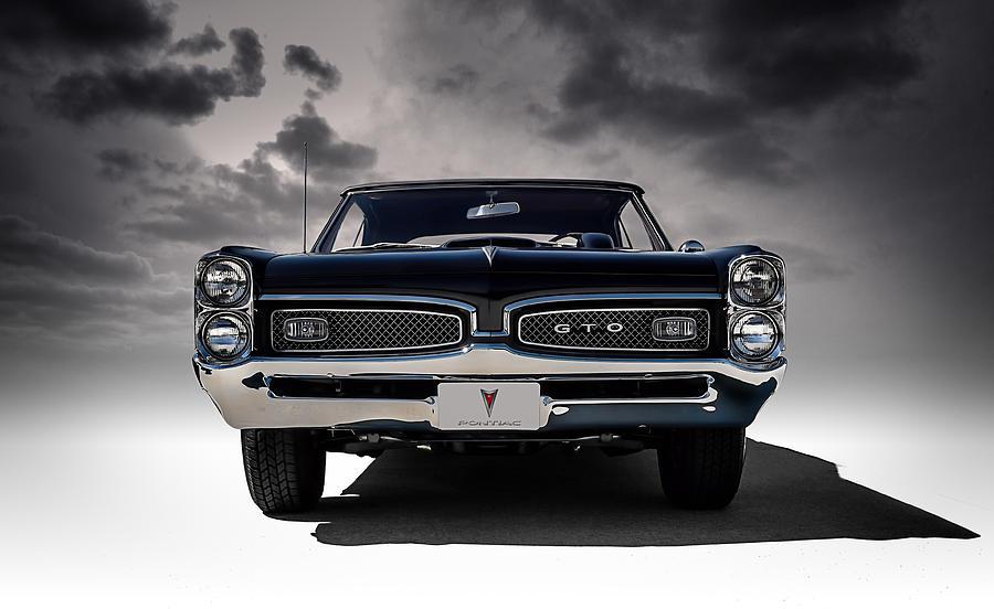 Classic Muscle Car Mobile Wallpaper 67 Gto Digital Art By Douglas Pittman