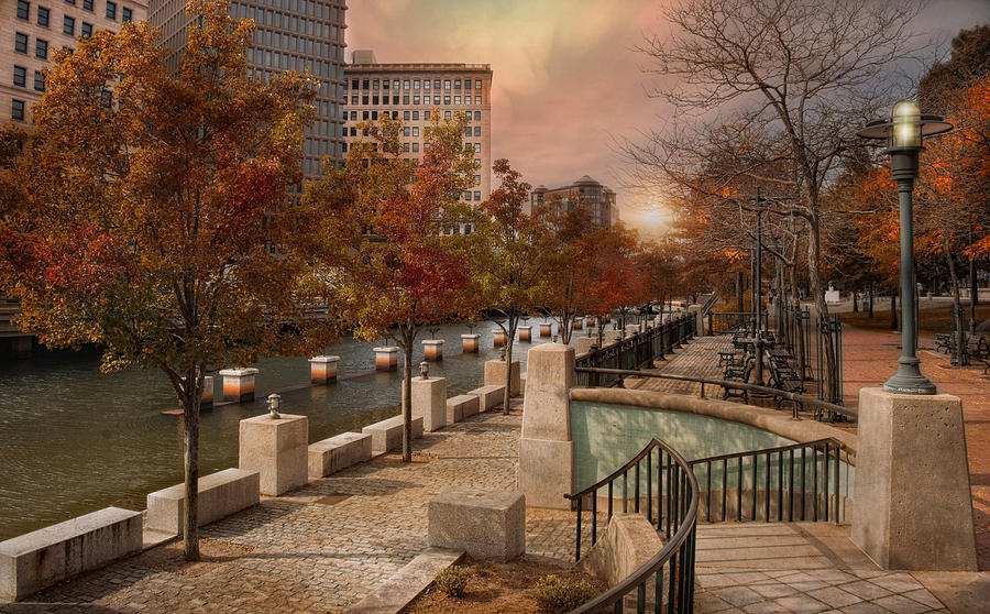 Fall Hills Wallpaper Autumn In The City Photograph By Robin Lee Vieira