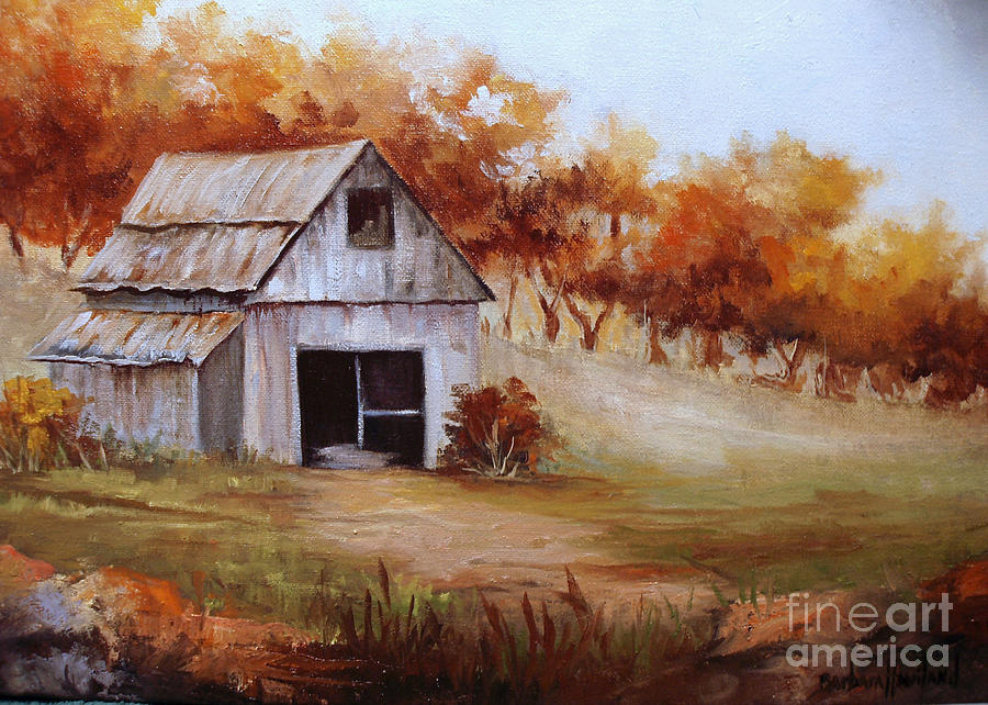 Fall Scenes For Ipad Wallpaper Autumn In The Country Painting By Barbara Haviland