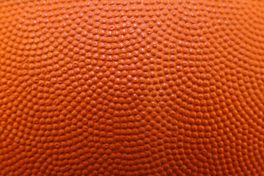 Basketball Wallpaper Iphone Basketball Texture Photograph By Les Cunliffe