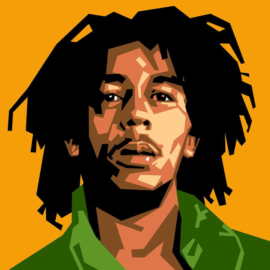 Rocky Wallpaper With Quotes Bob Marley Digital Art By Douglas Simonson