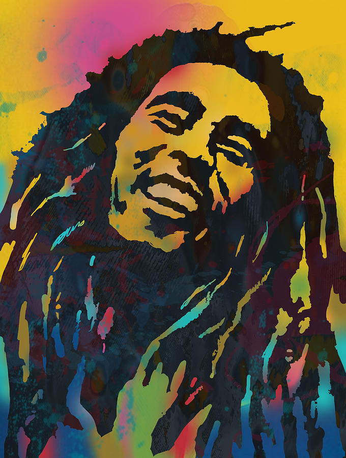2pac Quote Iphone Wallpaper Bob Marley Stylised Etching Pop Art Drawing Potrait Poser