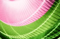 Breeze Xii - Pink And Green Abstract Wall Art Photograph ...