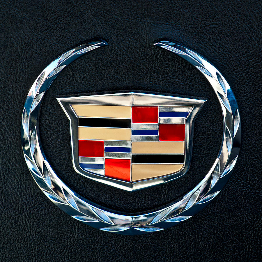 Vintage Car Wallpaper For Android Cadillac Emblem Photograph By Jill Reger