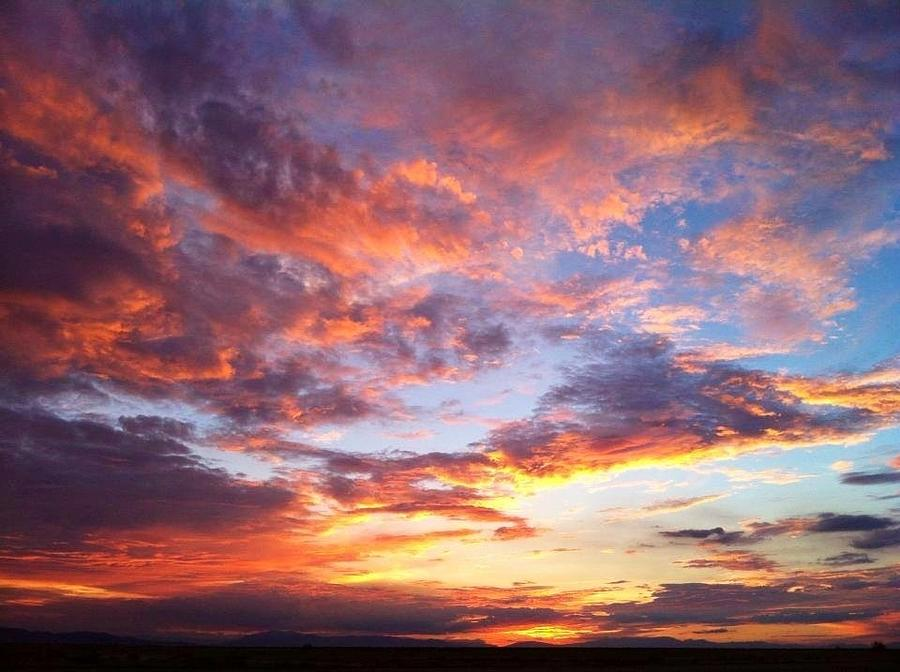 Chargers Iphone Wallpaper Desert Sunset Photograph By Deja Cross