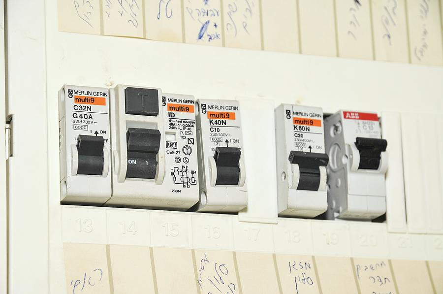 Domestic Fuse Box Photograph by Photostock-israel