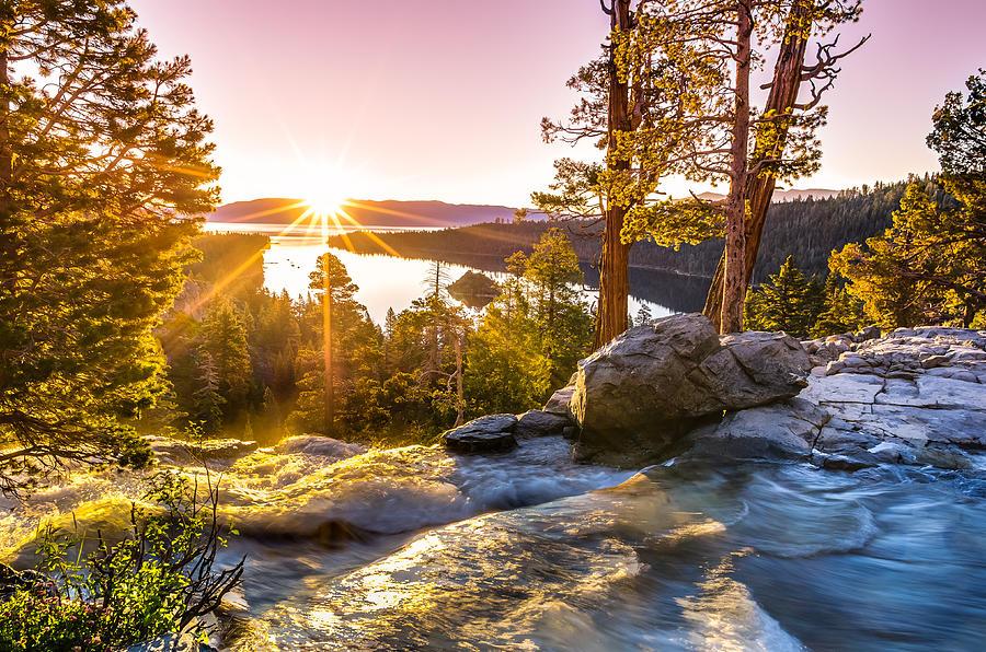 Adirondack Fall Wallpaper Eagle Falls Emerald Bay Lake Tahoe Sunrise First Light
