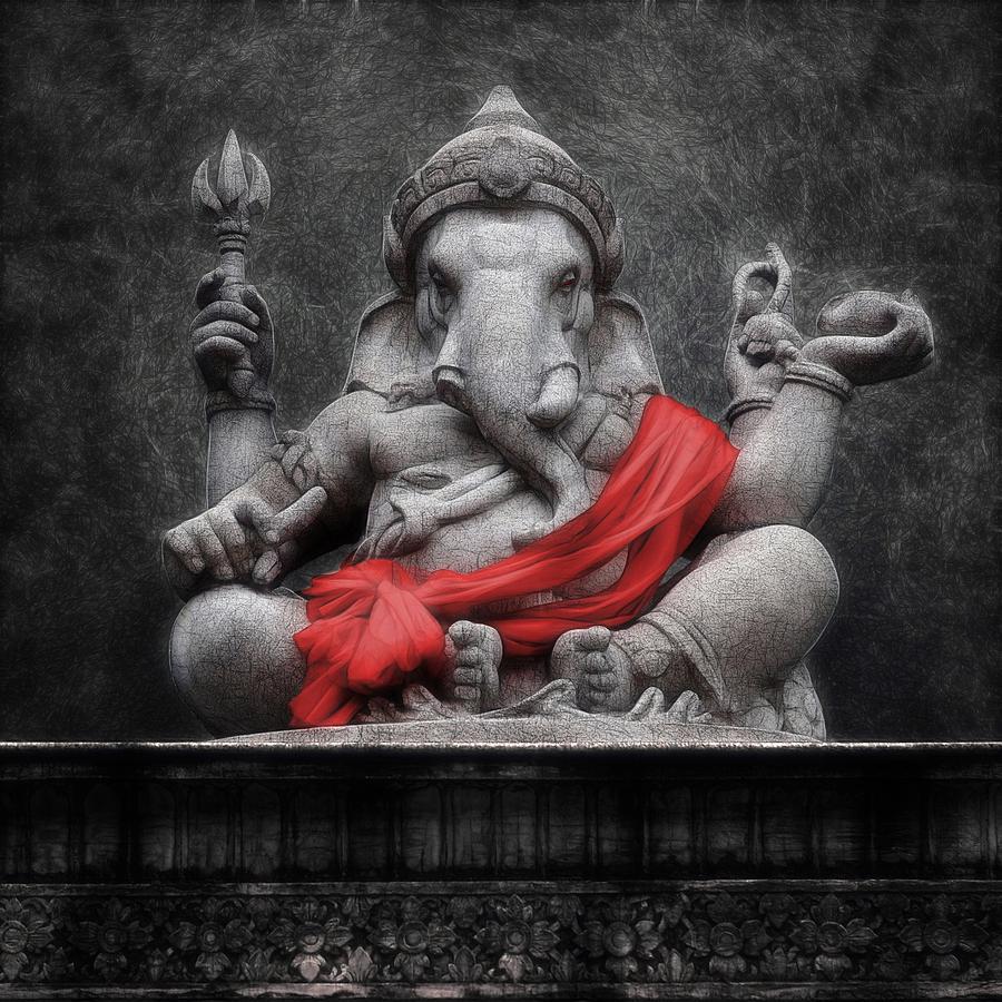 Cute Wallpapers Of Ganapati Ganesha V 1 Digital Art By Sippapas Thienmee