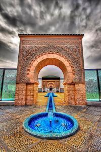 Gate To Moroccan Palace Photograph by Sham Osman