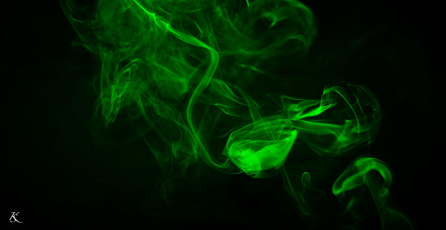 Animated Skull Wallpaper Green Black Smoke Photograph By Kelly Smith