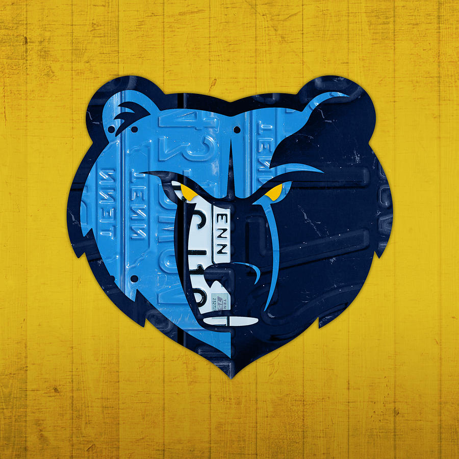 Basketball Wallpaper Iphone Memphis Grizzlies Basketball Team Retro Logo Vintage