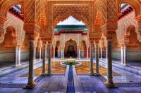 Moroccan Palace - Hdr Photograph by Sham Osman