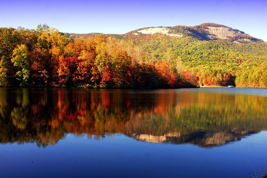 West Virginia Iphone Wallpaper Mountain Lake Reflection At Table Rock State Park Pickens