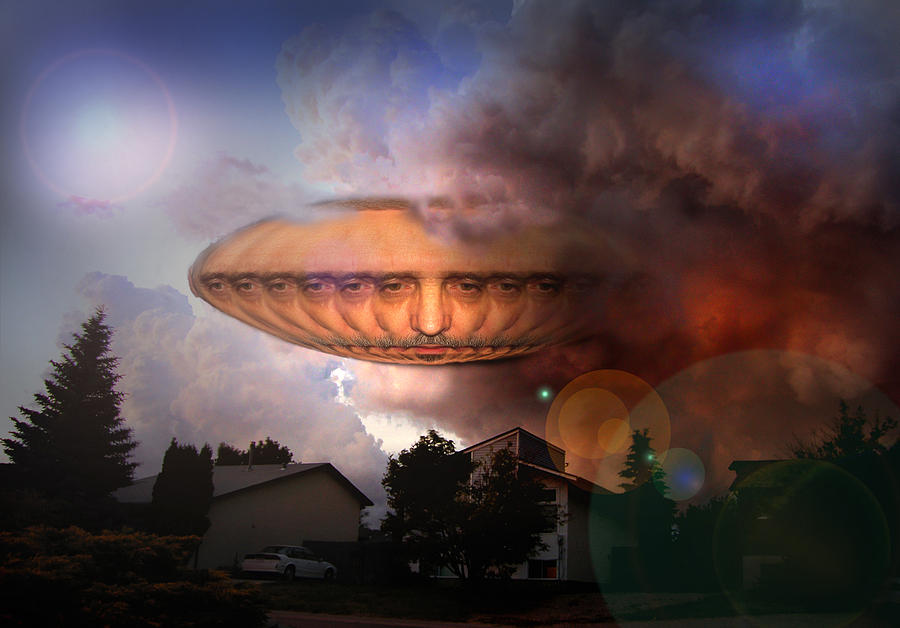 Chargers Iphone Wallpaper Mystic Ufo Digital Art By Otto Rapp