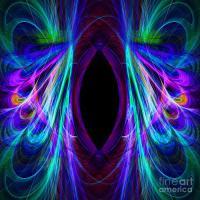Abstract Peacock Designs