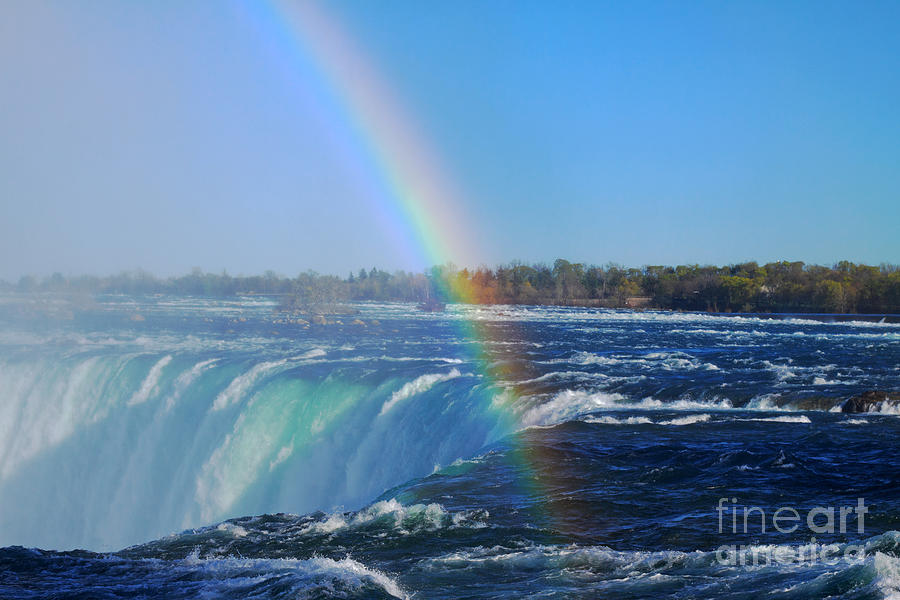 Niagara Falls Wallpaper Iphone Niagara Falls Rainbow Photograph By Charline Xia