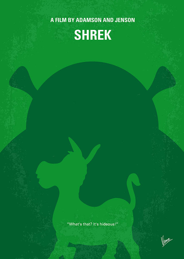 Hunting Iphone Wallpaper No280 My Shrek Minimal Movie Poster Digital Art By