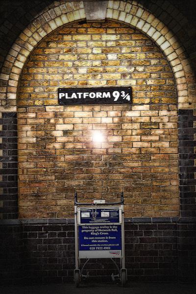 Platform 9 3/4 Photograph by Joanna Madloch