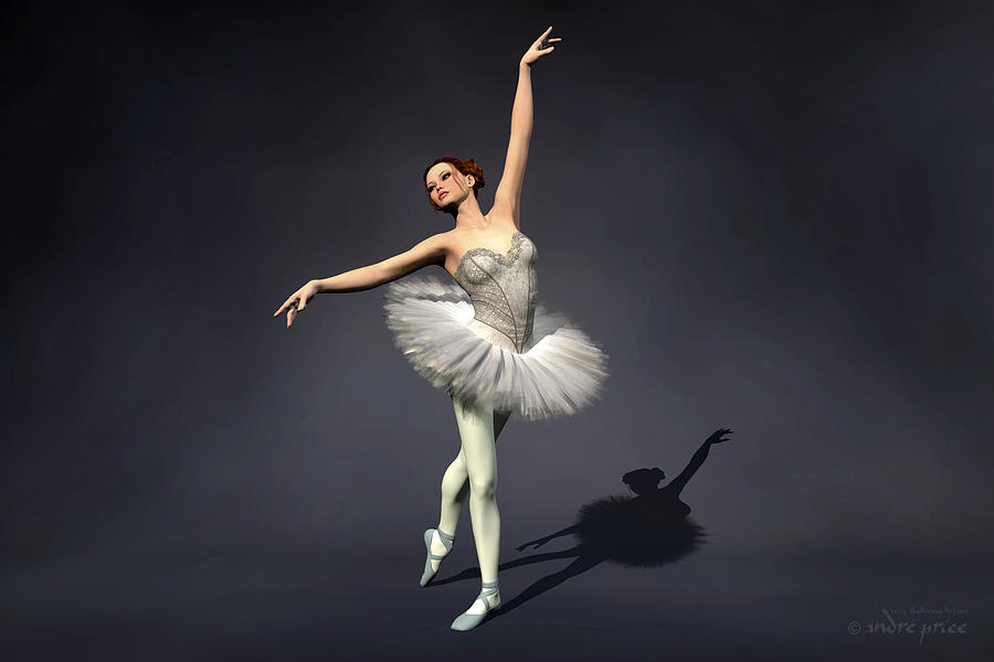 Flamingo Iphone Wallpaper Prima Ballerina Nanashi Croise Derriere Pose Digital Art
