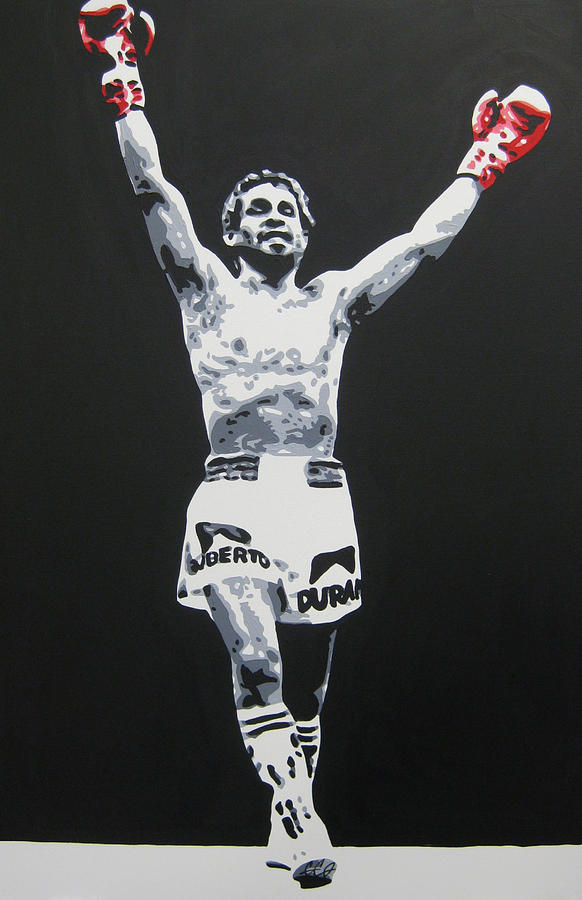 Chargers Iphone Wallpaper Roberto Duran 1 Painting By Geo Thomson