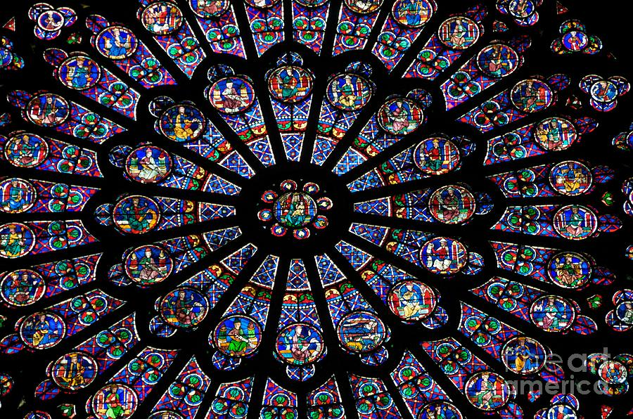 Native American Wallpaper Iphone Rose Window Famous Stained Glass Window Inside Notre Dame