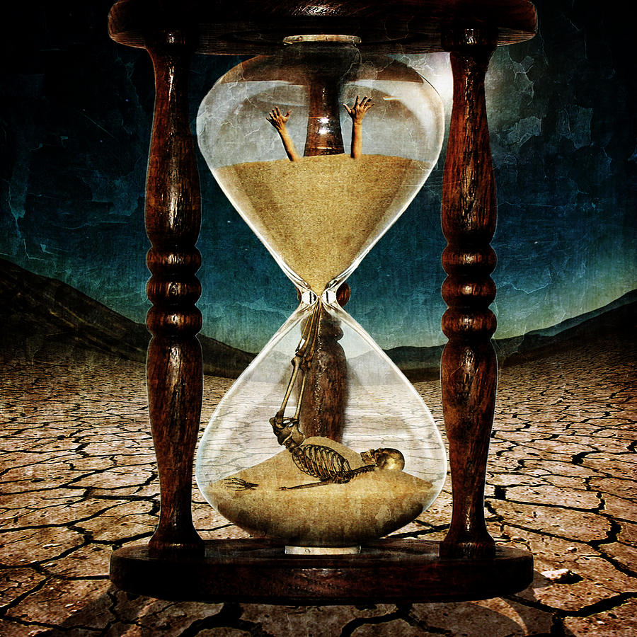 Best Wallpapers For Iphone X App Sands Of Time Memento Mori Digital Art By Marian Voicu
