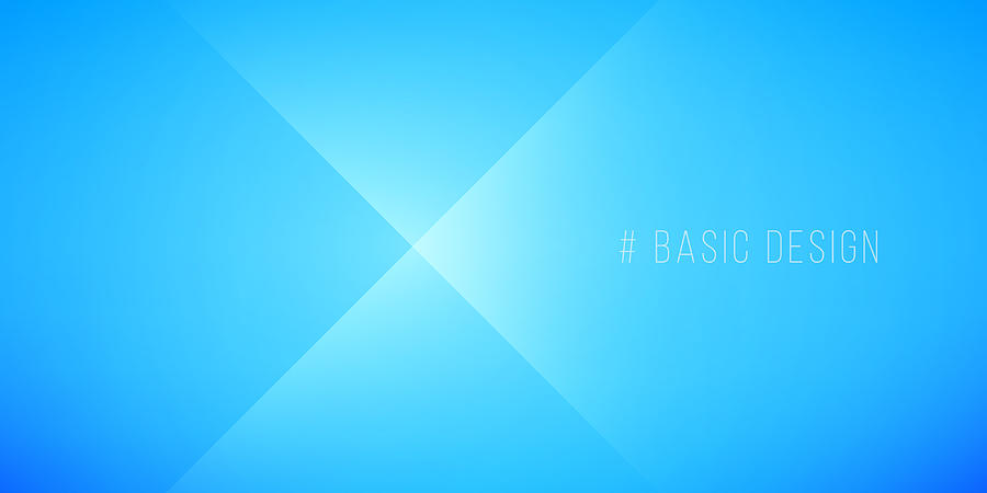 Simple Abstract Light Blue Background by 4khz